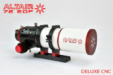 Altair 72 EDF Refractor with CNC Dual Speed R&P Focuser, Optical Test Report
